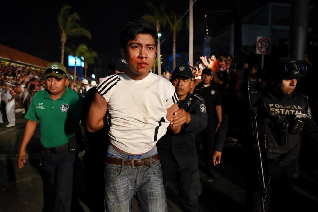 Suman 87 personas detenidas en cuatro días del Carnaval de Veracruz 2017