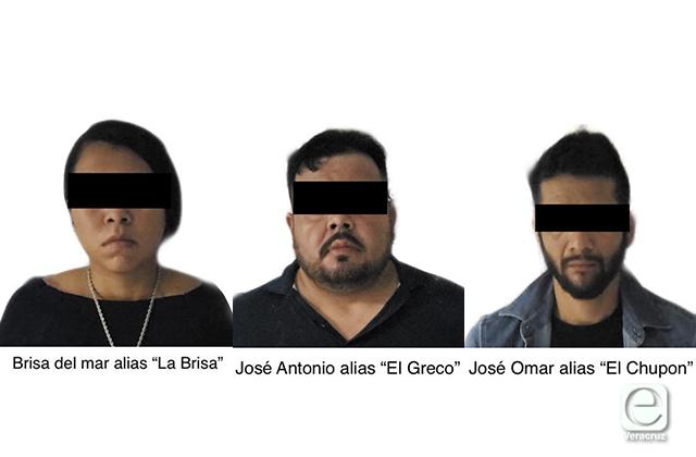 Con drogas y armas detienen a integrantes del CJNG en Cardel