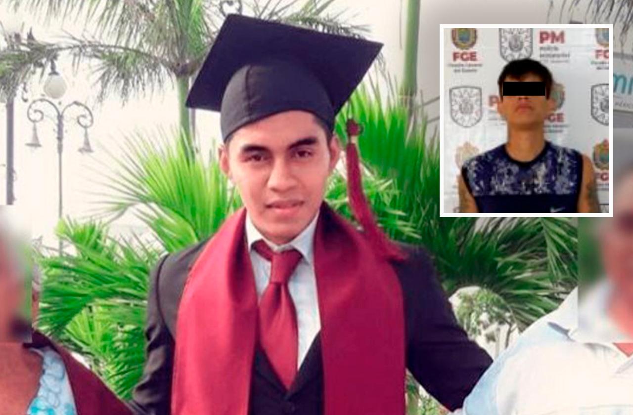 Detienen a presunto asesino de Luis Felipe en Veracruz