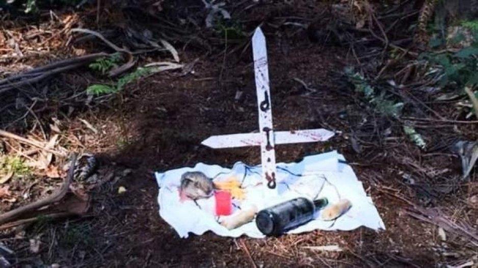 Hallan bebé presuntamente asesinado en ritual satánico