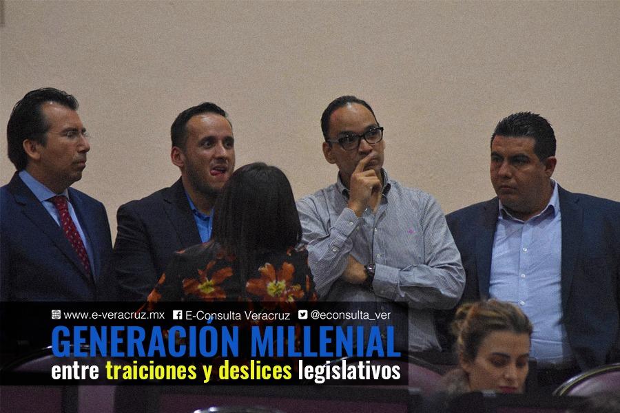 Las polémicas de los diputados millennial en Veracruz
