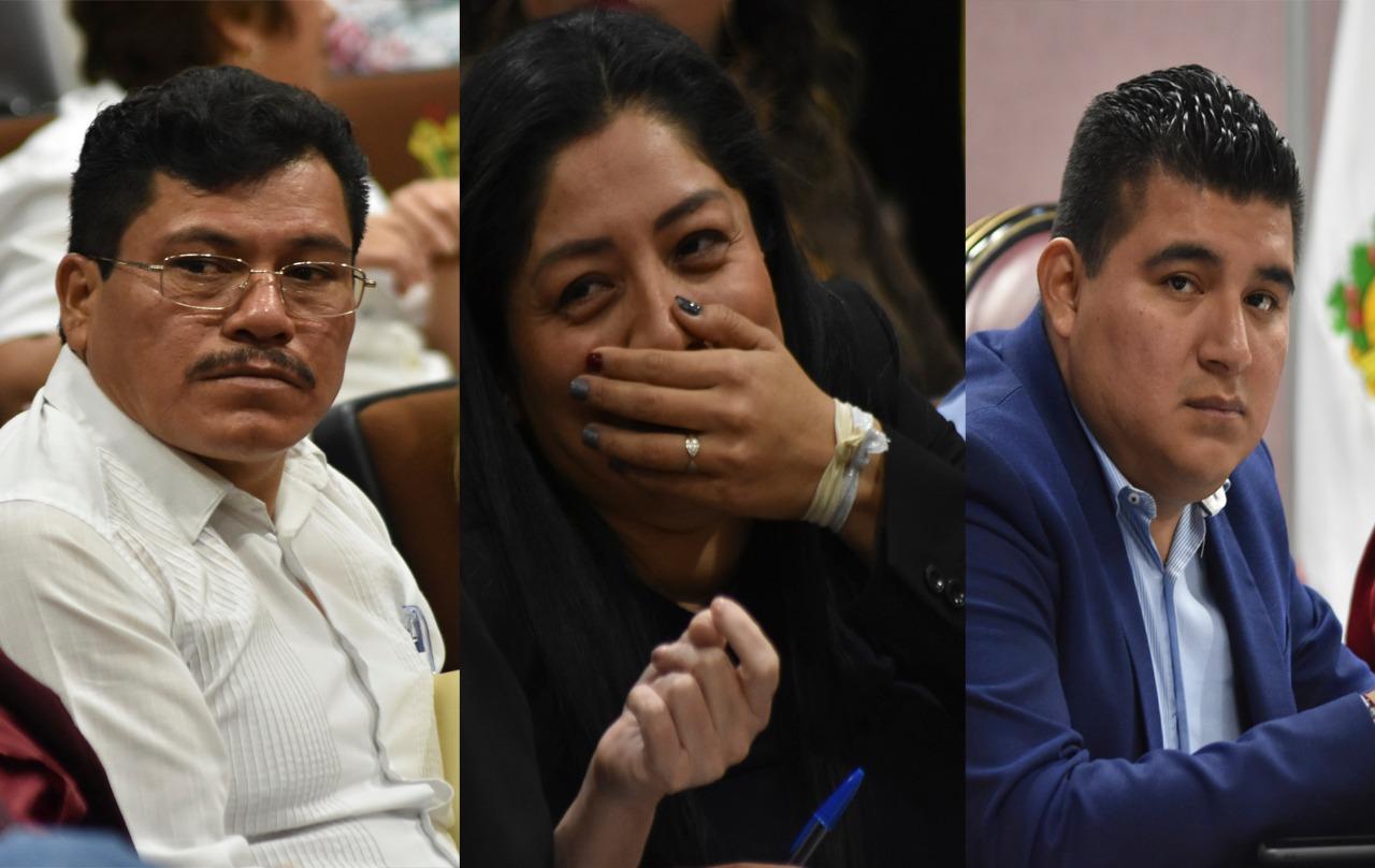 Por 'faltas a la 4T', expulsan de Morena a 3 diputados de Veracruz