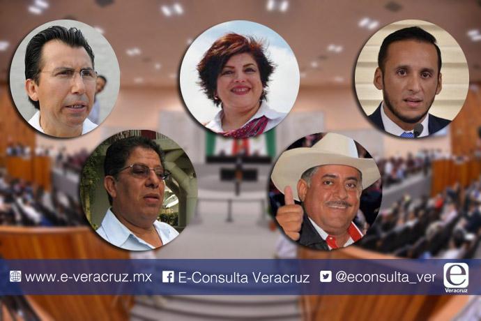 Ellos se perfilan como potenciales coordinadores de bancadas en Veracruz
