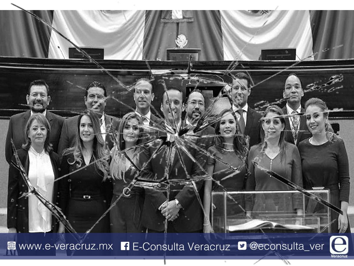 Se fractura PAN en Congreso de Veracruz