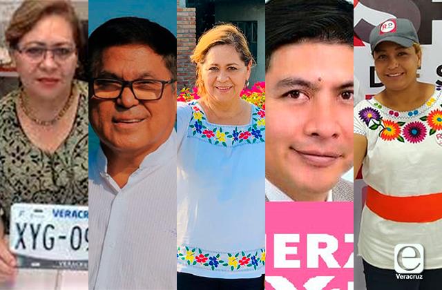 Diputados y alcaldes con licencia en la lista de candidatos por Tuxpan