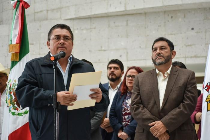 Desconocen a Sergio Hernández como presidente de Jucopo