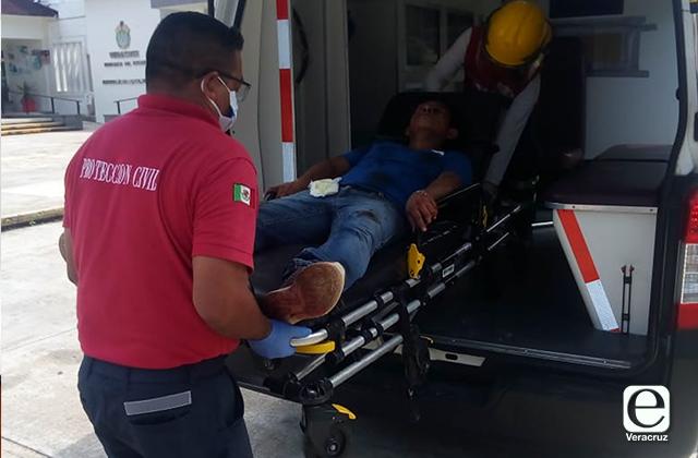 Disparan contra vendedor de agua en Cosoleacaque
