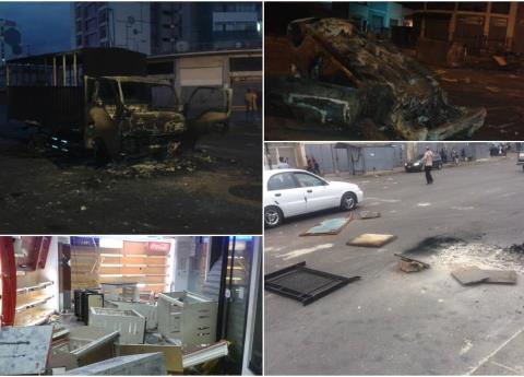 Así luce Venezuela tras los disturbios