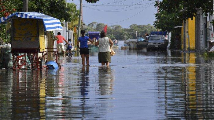 Solicitan declaratoria de desastre para Santiago Tuxtla y Catemaco