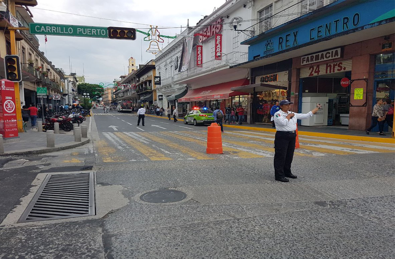 ¿En qué horarios y hasta cuándo estará cerrado el centro de Xalapa?