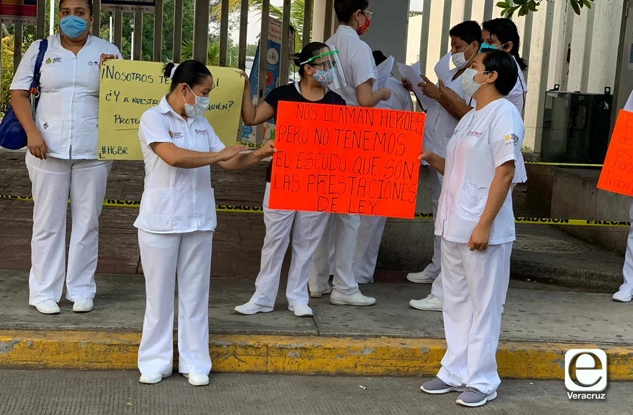 Insumos y seguridad laboral exigen enfermeras boqueñas