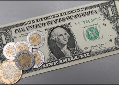 Dólar se vende hasta en 20.02 pesos