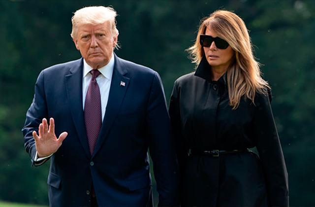 Trump y su esposa dan positivo a covid-19