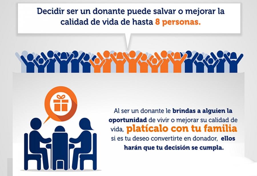 El donador de órganos, salvavidas seguro