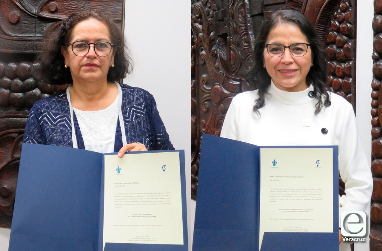 Junta de Gobierno UV designa a secretaria académica y Tesorera