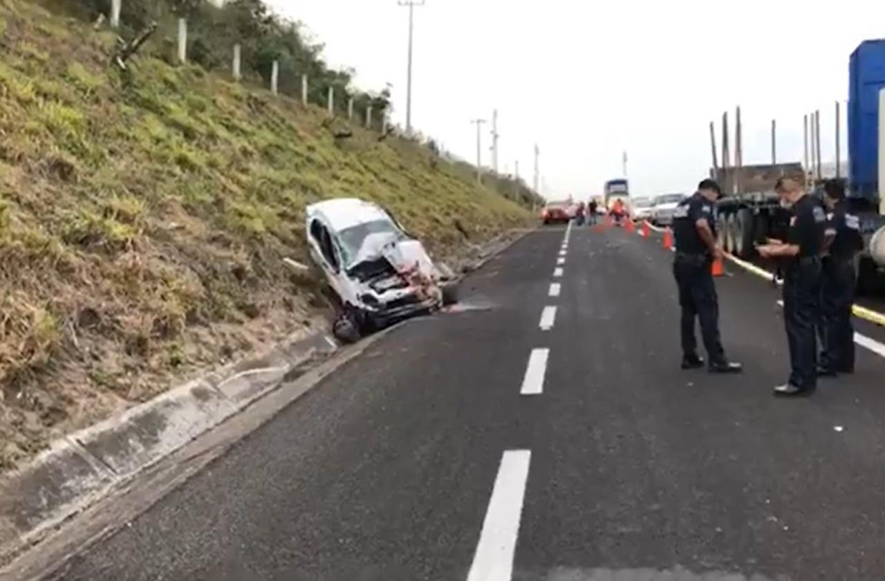Dos mujeres mueren tras accidentarse en la Veracruz-Cardel