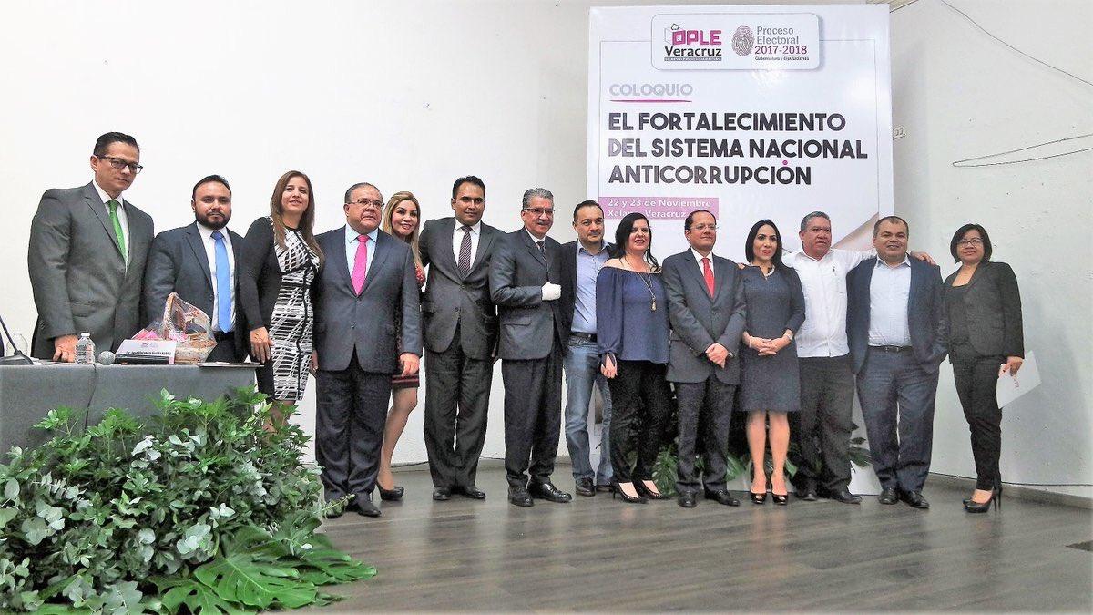 OPLE realiza coloquio sobre el fortalecimiento del Sistema Nacional Anticorrupción