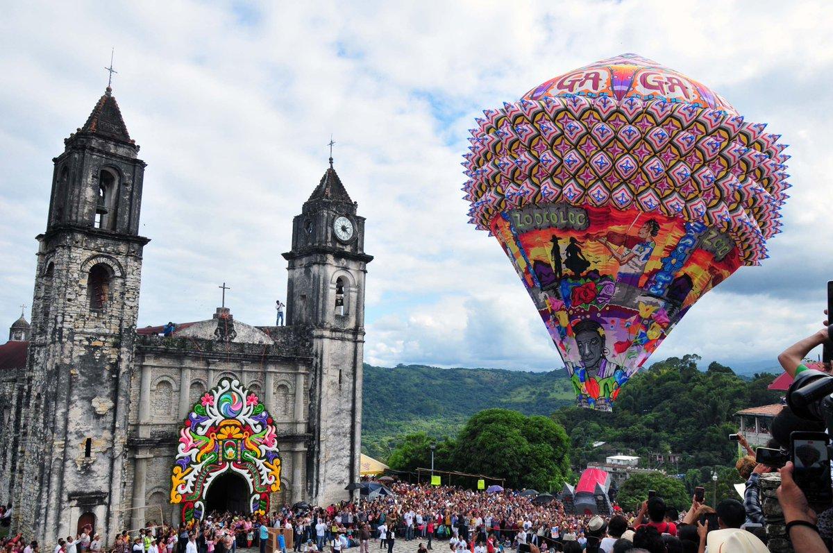 Zozocolco listo para un nuevo Festival Internacional de globos de papel china