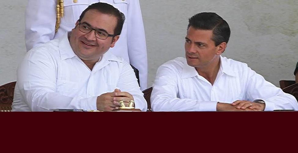 Javier Duarte plantea a FGR revelar delito de EPN
