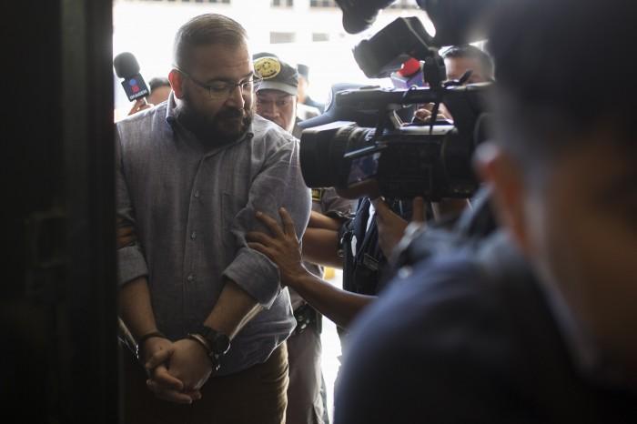 Diez claves de la audiencia de extradición de Javier Duarte en Guatemala