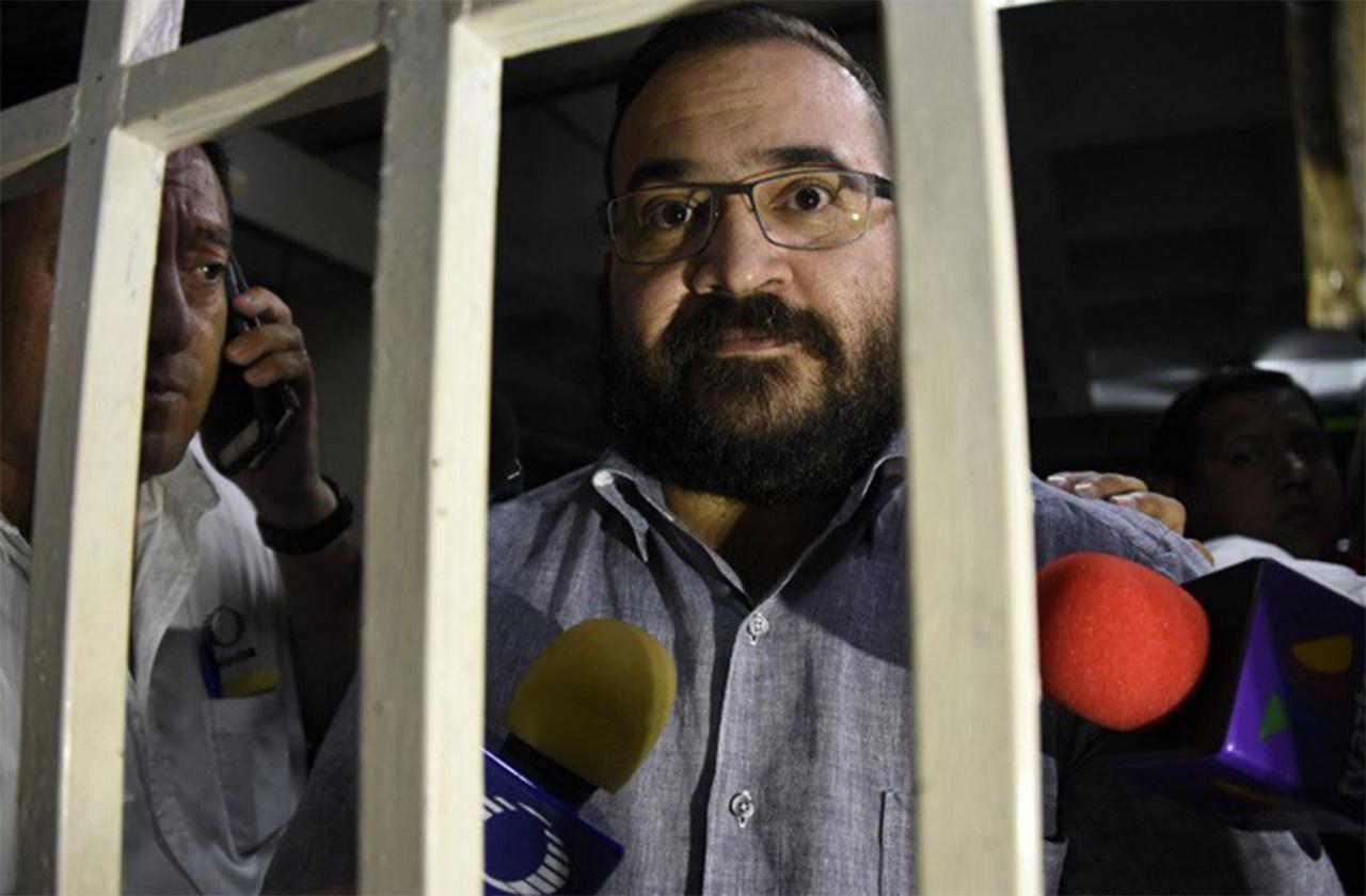 Por sospechas de covid, aíslan a Duarte en Reclusorio Norte