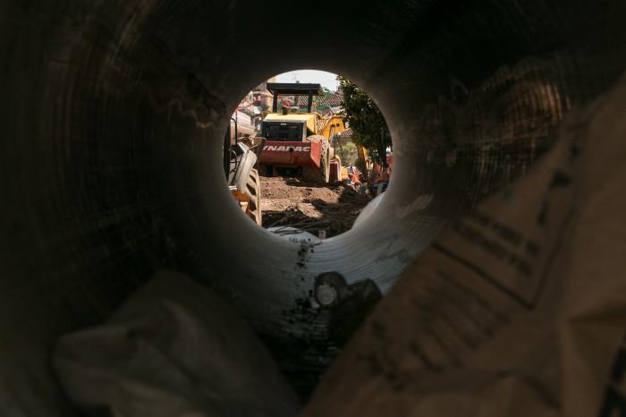 Gas Noreste quiso sorprender a trabajadores en reconstrucción de la Xalapa-Coatepec