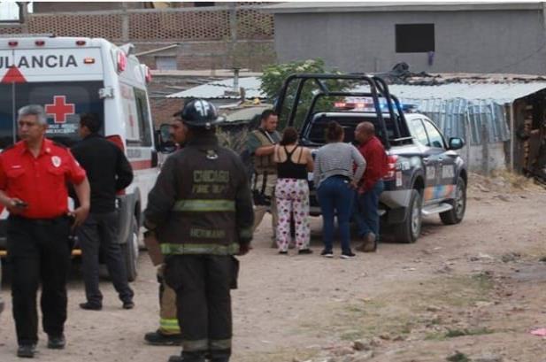 Santiago mató a su esposa y la quemó en Durango