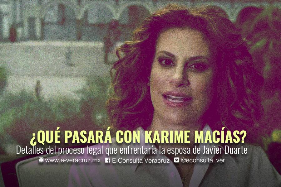 ¿Karime Macías sería juzgada en Veracruz?, esto dicen abogados