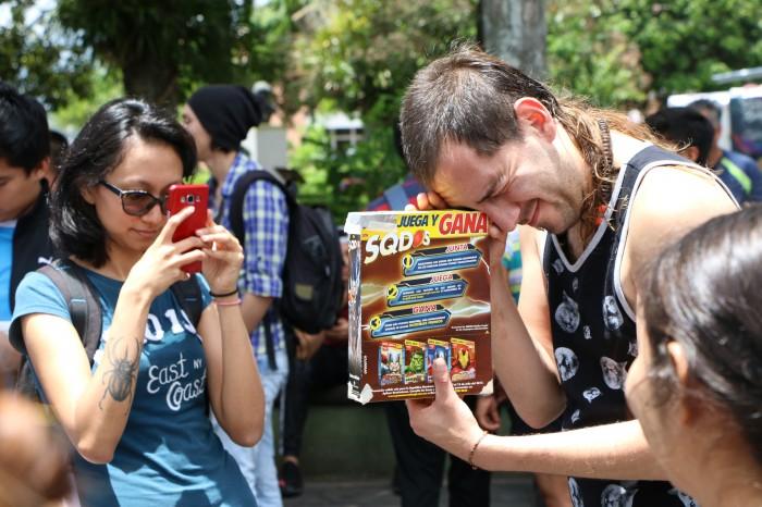 Veracruzanos observaron el eclipse parcial de sol
