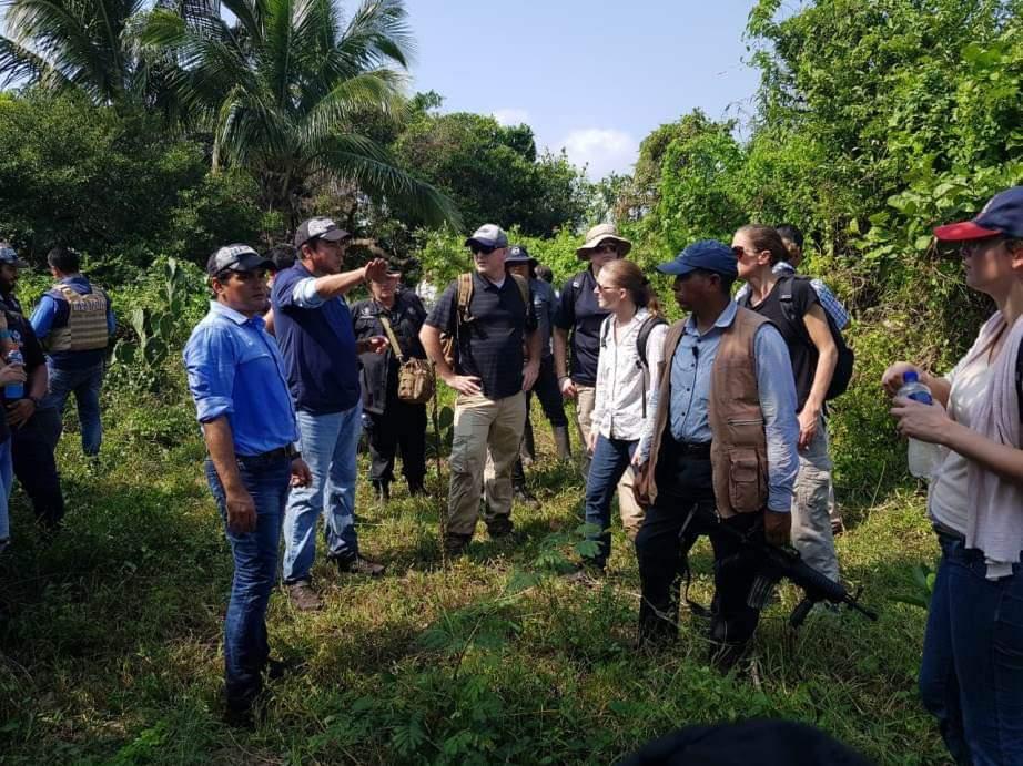 Expertos del FBI exploraron fosa hallada en Alvarado, Veracruz