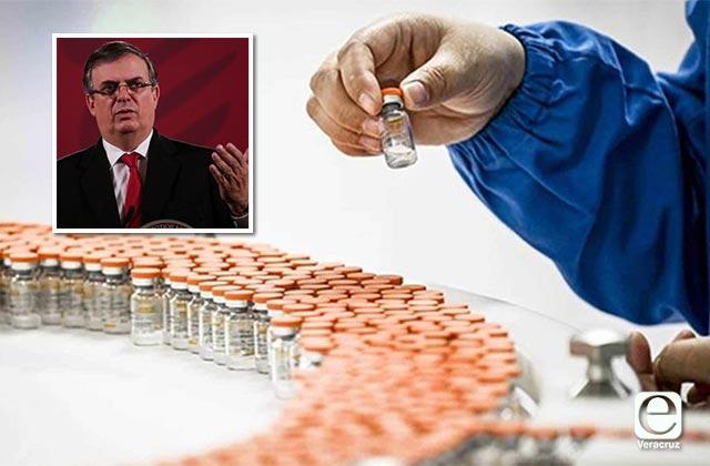 Vacunar a mexicanos contra covid tomaría 10 meses: Ebrard