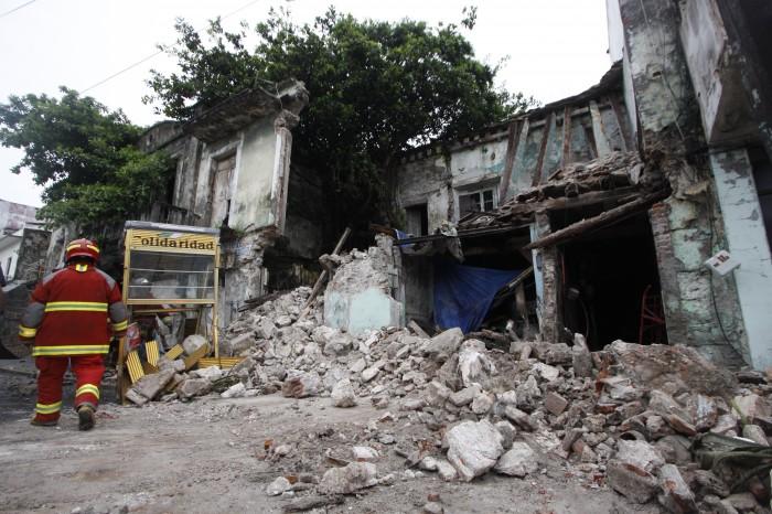 Hay 80 edificios en malas condiciones en el centro histórico de Veracruz