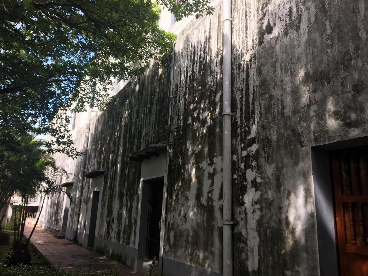 Sede del IVEC de Veracruz puerto, en total abandono