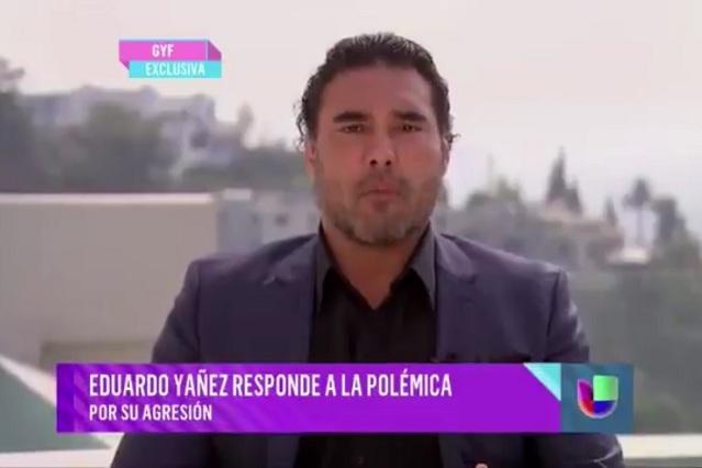 Eduardo Yáñez ofrece disculpas a punto del llanto tras cachetada a reportero