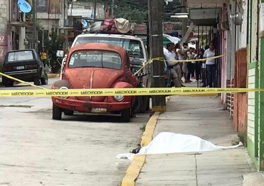 Joven fue privado de la vida a balazos, en Coatepec