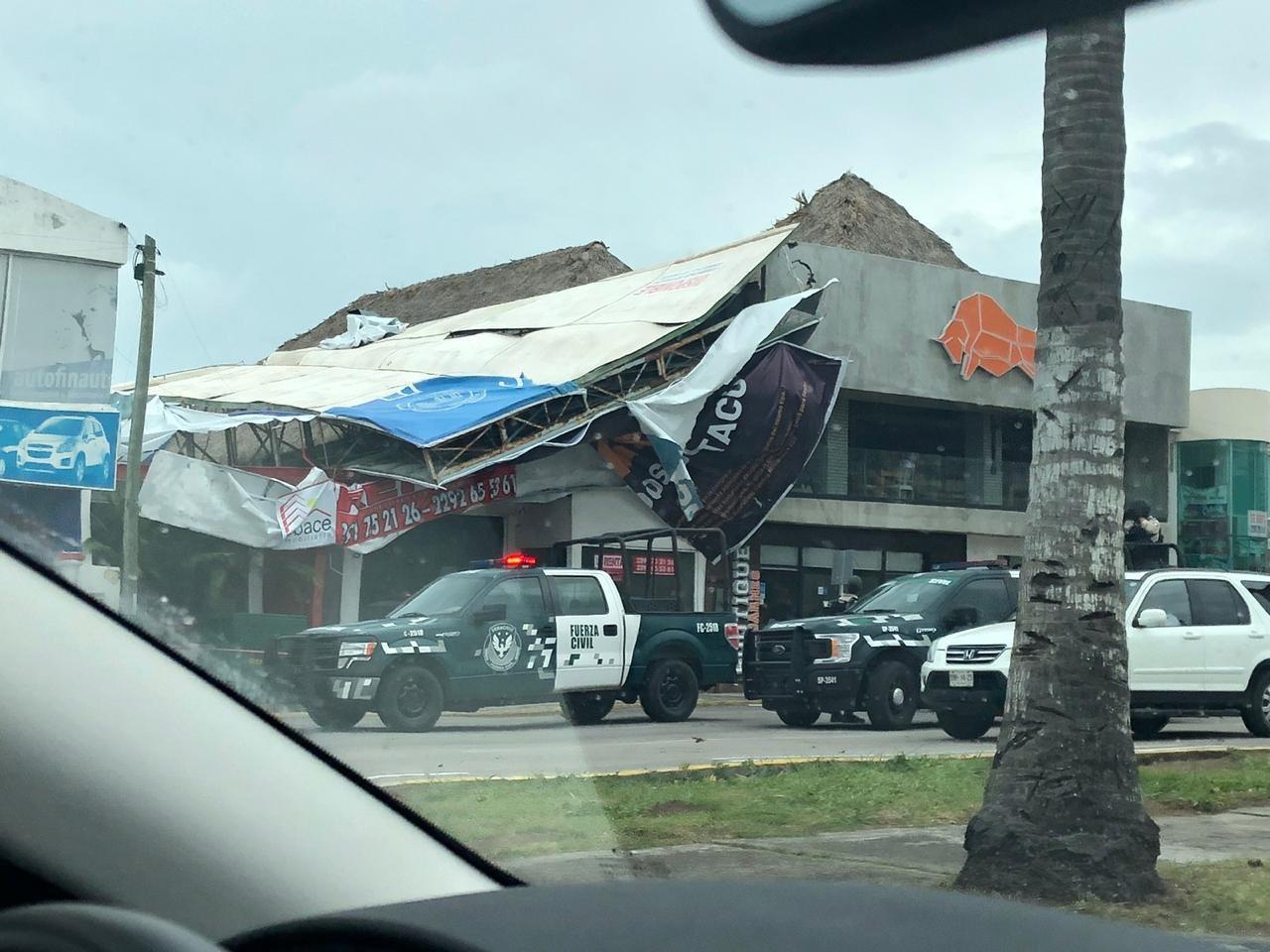 Frente Frío No. 8 dejó afectaciones y un muerto, en Veracruz