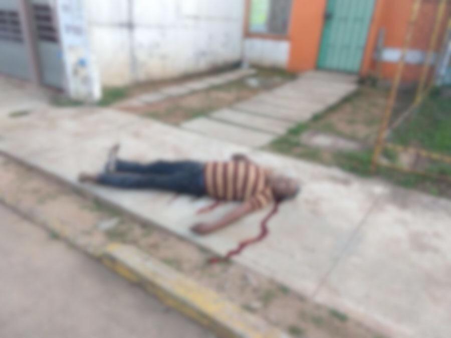 Asesinan a hombre en vía pública de Cosoleacaque