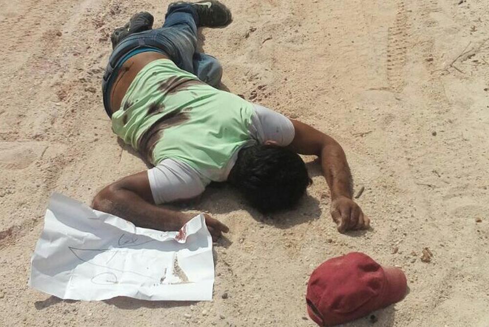 Asesinan a dos personas en Las Choapas