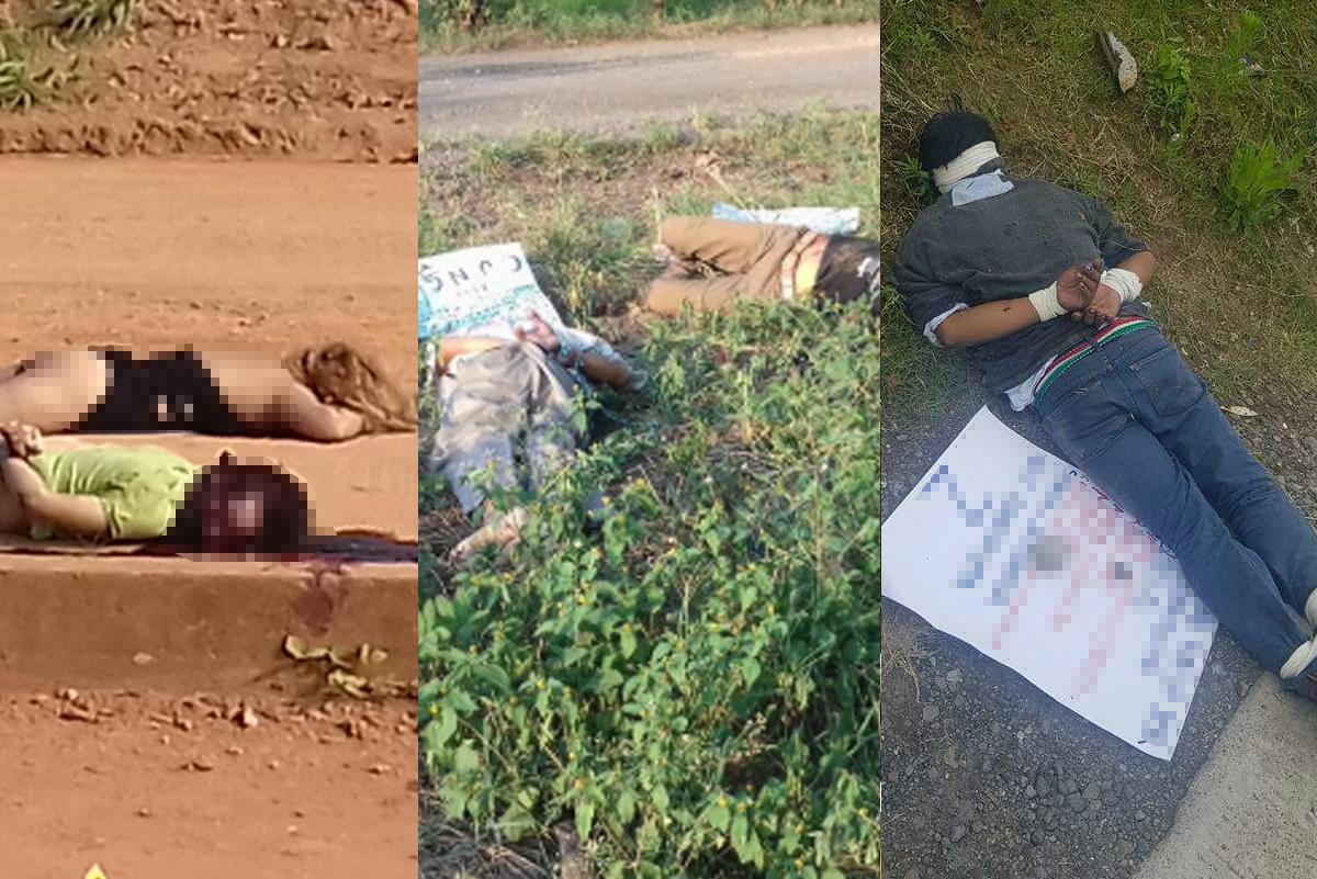 Hallan cuerpos de cinco personas en Veracruz
