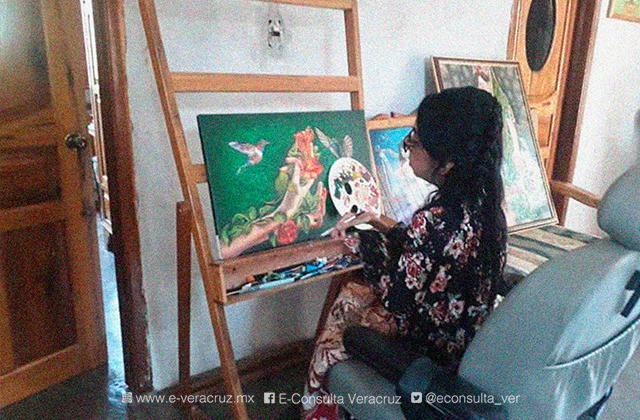 El arte le dio a Susana una nueva forma de ver la vida