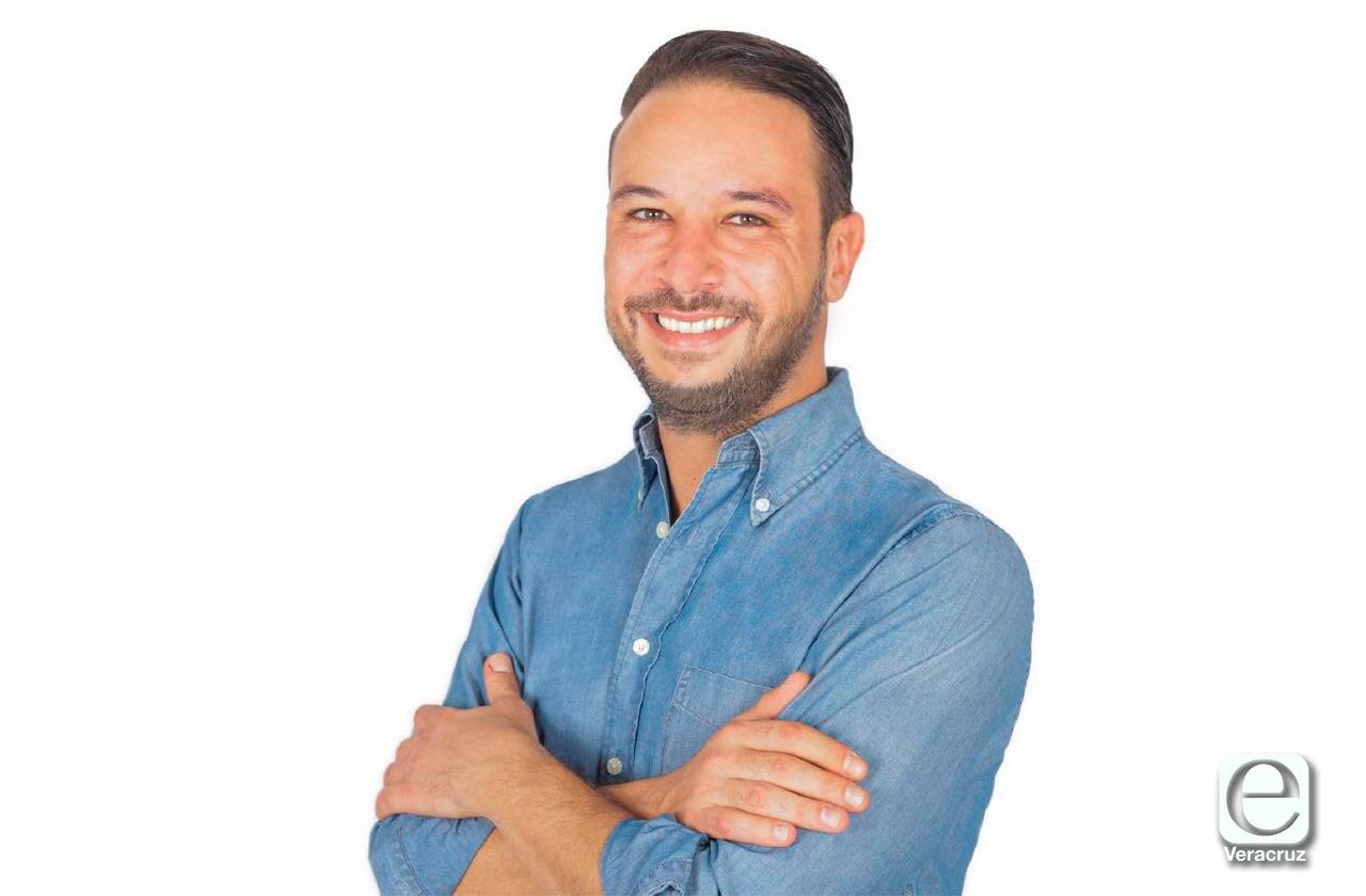 Él es Juan Manuel Anánue, ganador de la alcaldía de Boca del Río