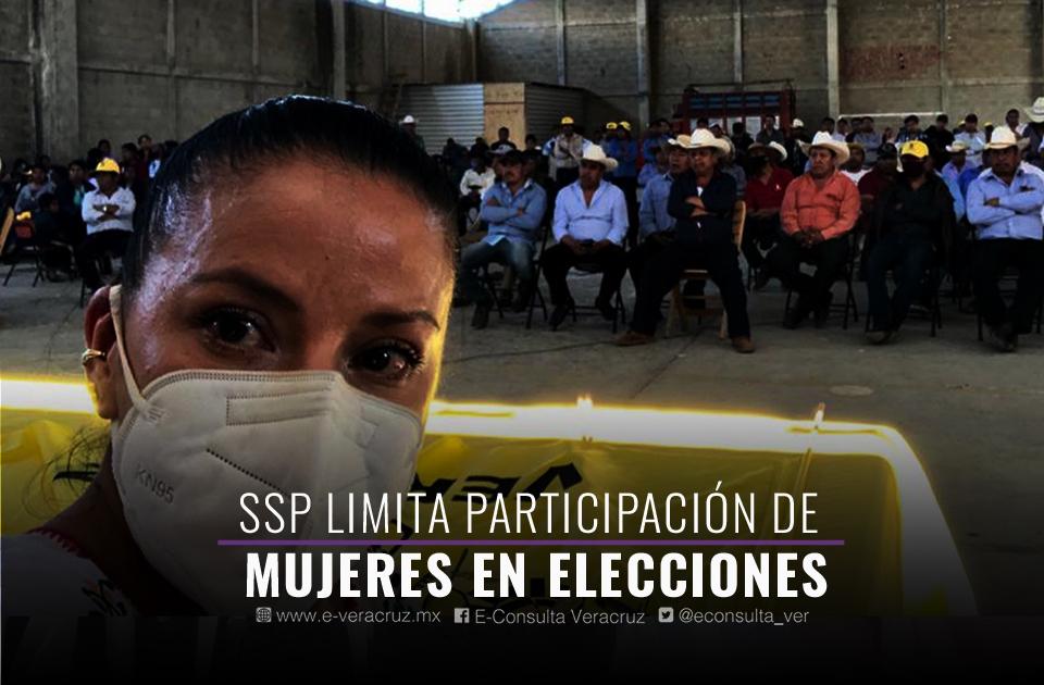 SSP Veracruz bloquea a empleada para competir por diputación