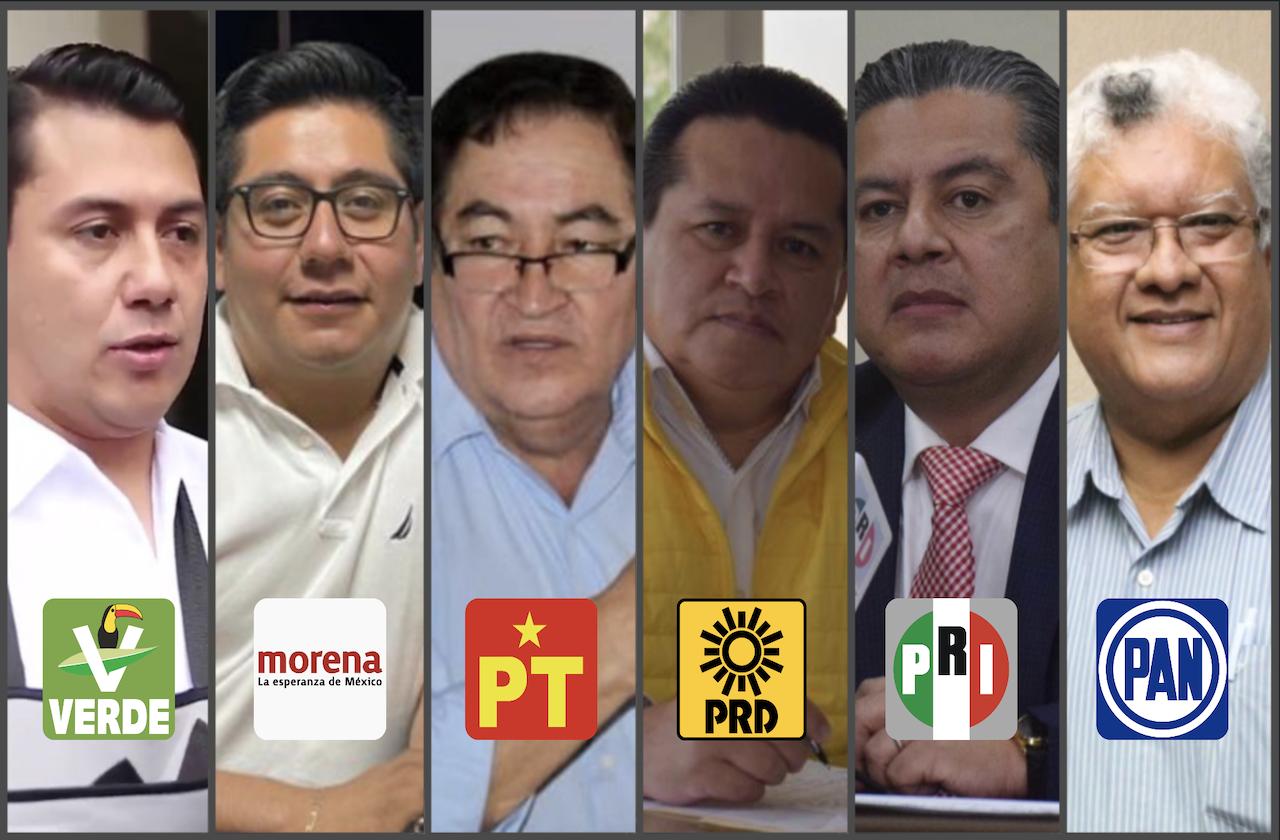 Así repartieron candidaturas frente opositor y Morena, en Veracruz