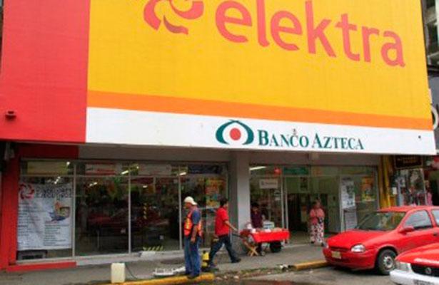 Ladrones desarman a guardias de seguridad y asaltan tienda Elektra en Veracruz
