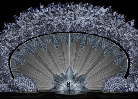 Los 45 millones de cristales Swarovski de los Oscar