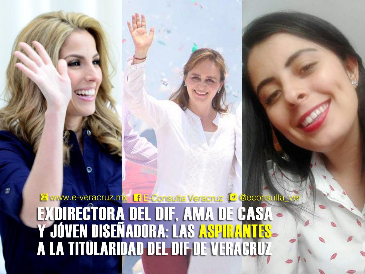 ¿Quiénes se perfilan a primera dama de Veracruz?