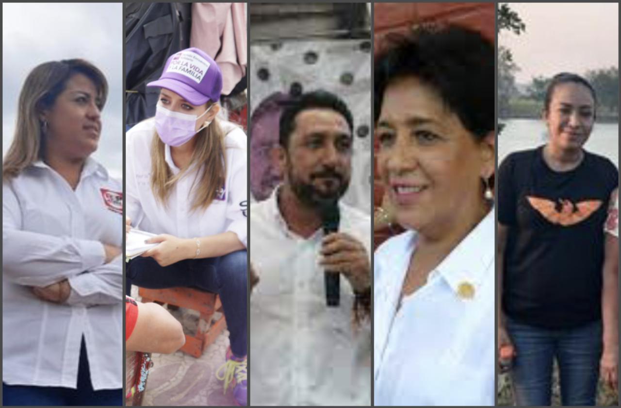 Ellos son los candidatos a diputado federal de Pánuco