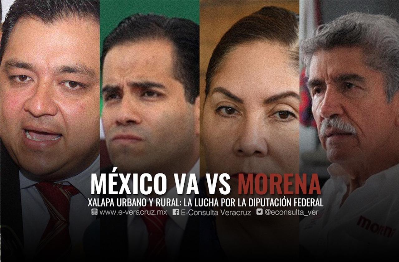 Empresarios, duartistas y atletas buscan diputación federal por Xalapa