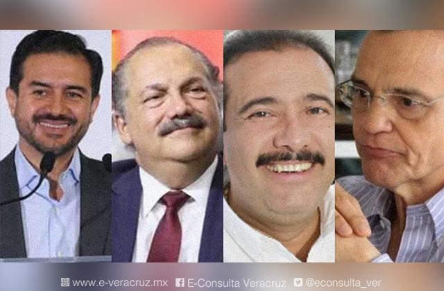 Ellos son los candidatos a la alcaldía del puerto de Veracruz