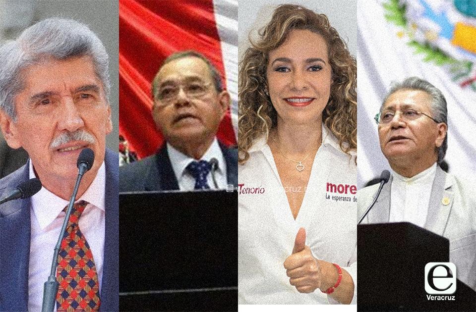Ellos son los diputados federales menos productivos de Veracruz